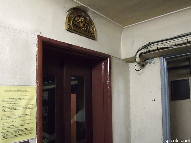 奥野ビル最古のエレベーター