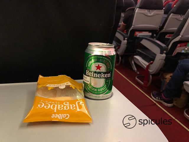 エアアジアXD7ビール
