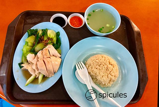 海南鶏飯セット
