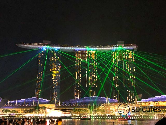 シンガポールナイトショー