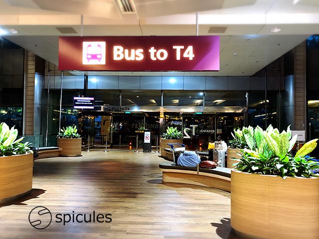 チャンギ空港T4