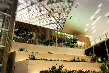 仁川空港第二ターミナルラウンジ