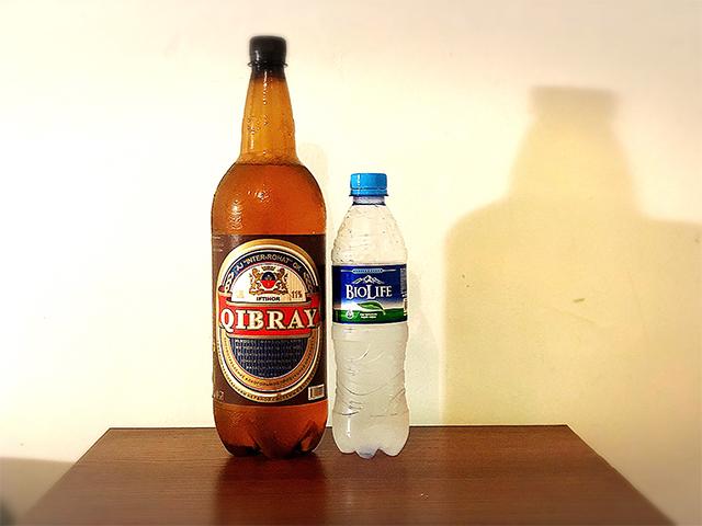 ウズベキスタンのビール