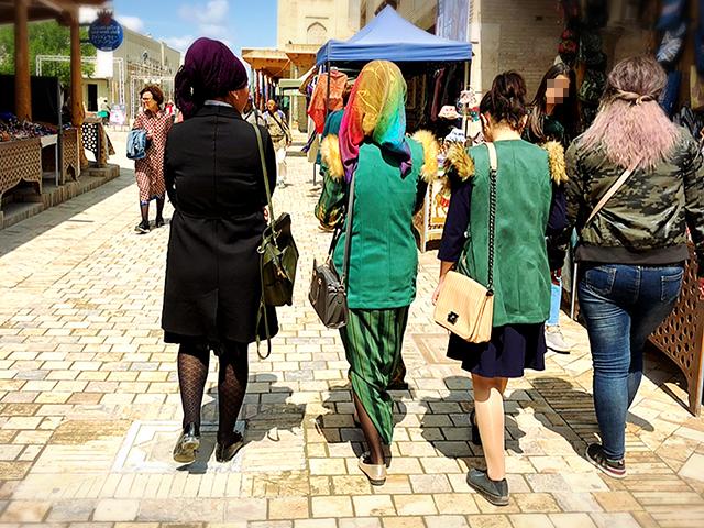 ウズベキファッション